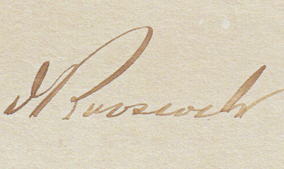The signature in this document was faded due to light exposure