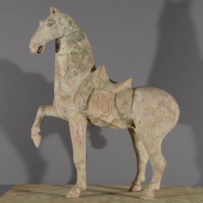 Tang Horses, Chinese Terracotta Pottery