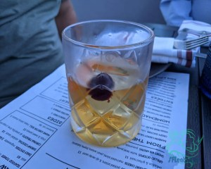 Japanese smoked old fashioned