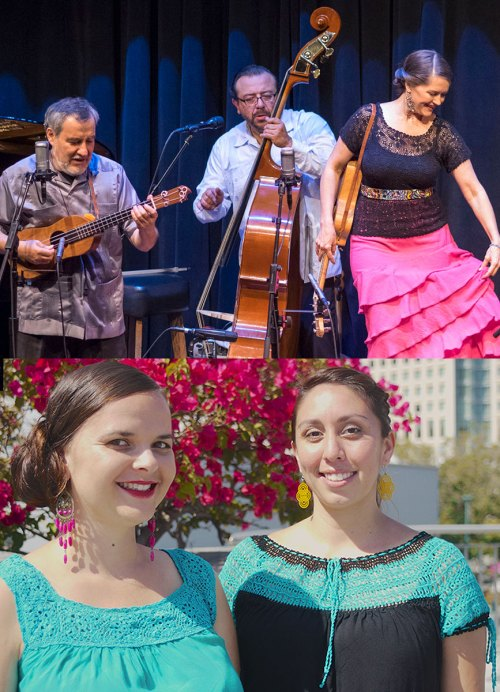 "A celebration of Mexican ""Son"" with CASCADA DE FLORES & TARIMBA @ SF Live Arts at Cyprian's 