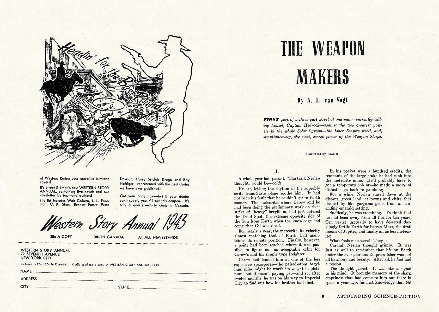 Astounding Science-Fiction v30n06, February 1943 | SF MAGAZINES