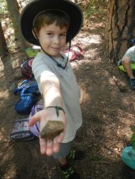 Collecting Rocks!
