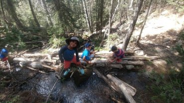 Fun on the Winsor Trail!