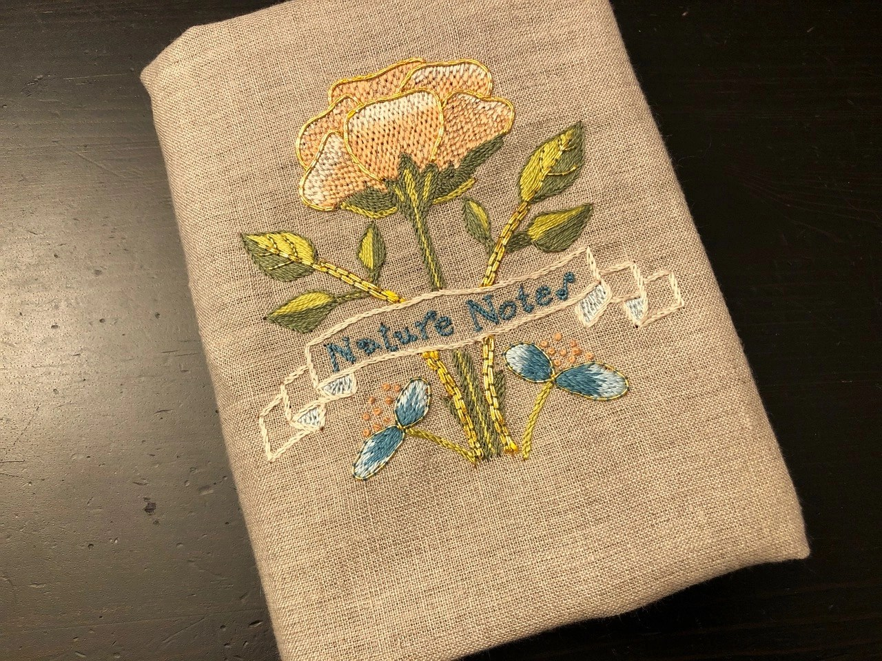 May Morris Inspired Book Cover, by Gillian Bailey