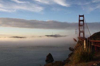 The San Francisco Golden Gate Bridge from Vista Point. (Alex Emslie)
