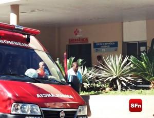 Bombeiro Hospital Foto: Manuela Escalla