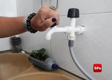 falta de água /foto Manuela Escalla