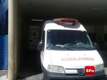 ambulância hospital entrada 34