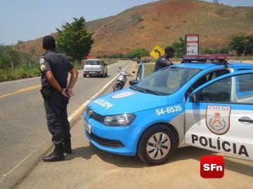 polícia militar estrada campos