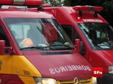 ambulâncias bombeiros