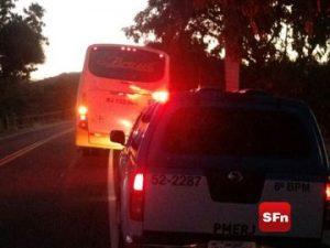 policia militar ônibus