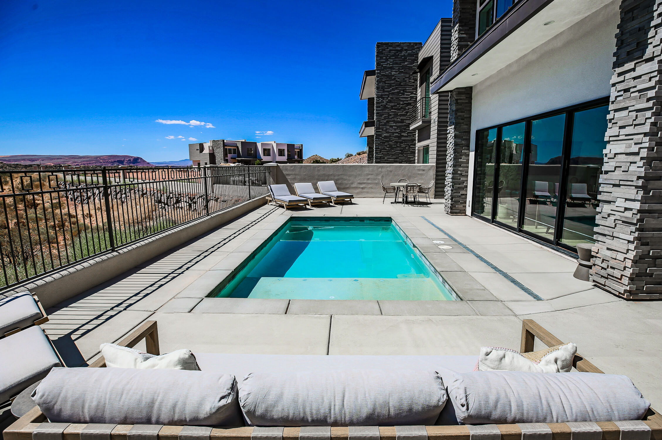 private pool in st george