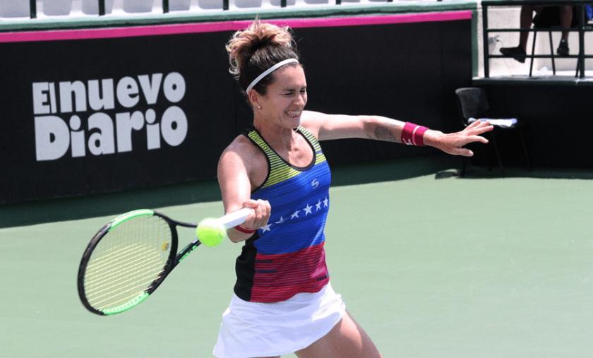 Andrea Gamiz venció a Karolina Vlckova en la previa de calificación del Stare Splavy   Contrapunto.com