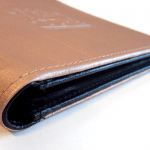 Rechnungsmappe aus PU Leder zweifarbig