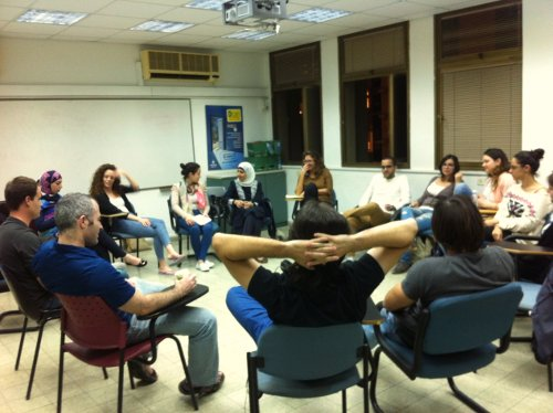 2013-2014 School for Peace course at Tel Aviv University