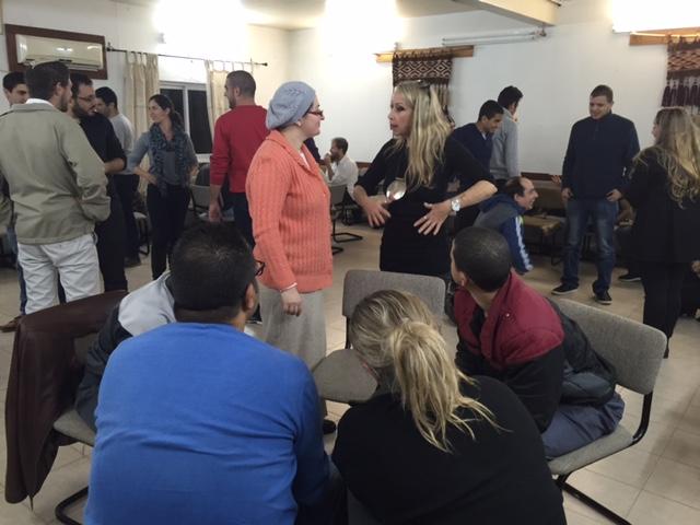 קורס במכללת עזריאלי שבירושלים בסדנת סוף שבוע בוואחאת אל סלאם נוה שלום