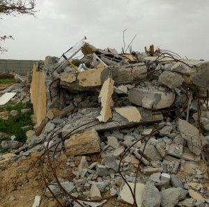 umm al-hiran -destroyed house