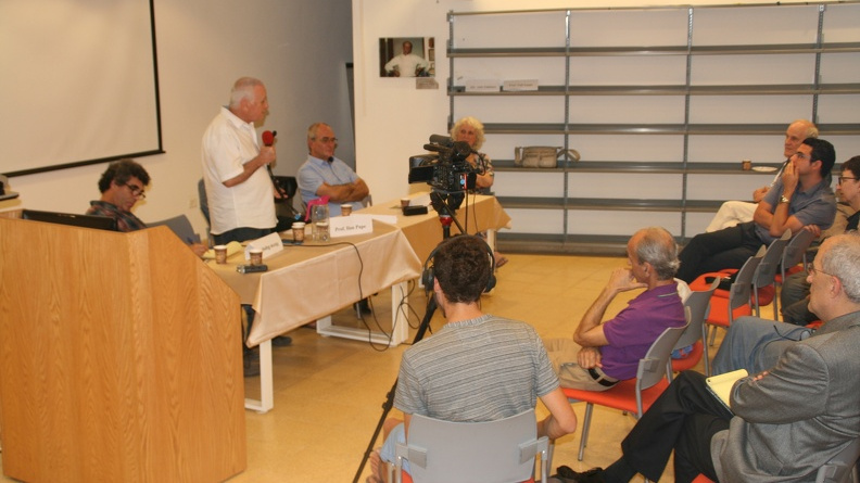 at the symposium