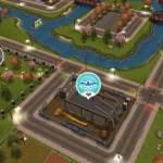 Buntes Icon des Schwimmzentrums