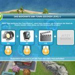 """Stand der Ressourcen für das Monument """"Das berühmte Sim-Town-Zeicihen"""""""