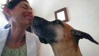 Kasie getting Sofie kisses xox