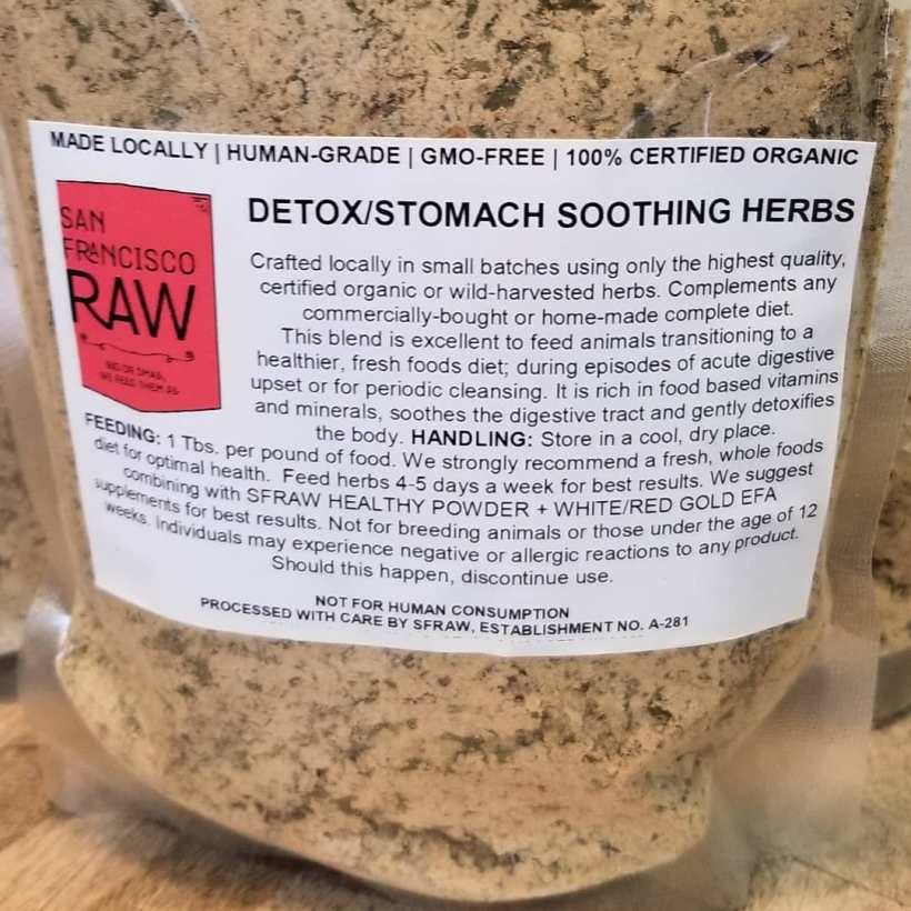 SFRAW Starter's Stomach Soothing/Detox Blend