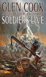 soldiers-live-by-glen-cook cover