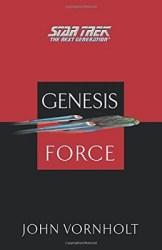 TNG Genesis Force, by John Vornholt cover
