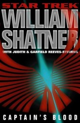 Captain's Blood, by William Shatner book cover