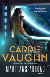 Martians Aboard, by Carrie Vaughn book cover