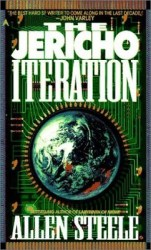 The Jericho Iteration , by Allen Steele book cover