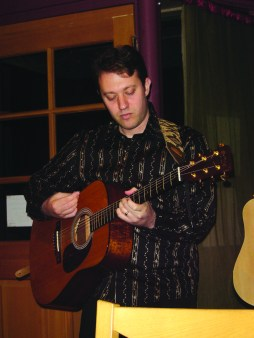 f Gutman (right) performs at the Plough and the Stars.