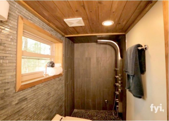 tiny house with bathroom