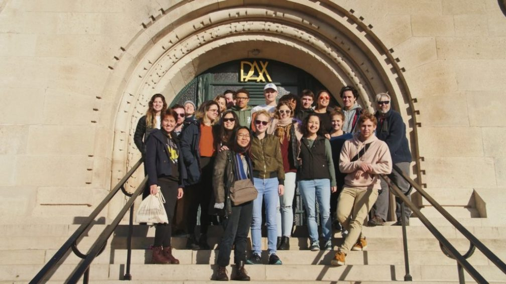 MemorialGroupShot - Remembrance during Study Abroad