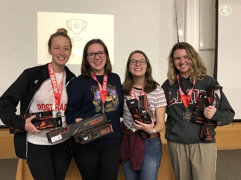 RoseHacks 1 - All-Women Team Wins Hackathon Award for LMU Map Program
