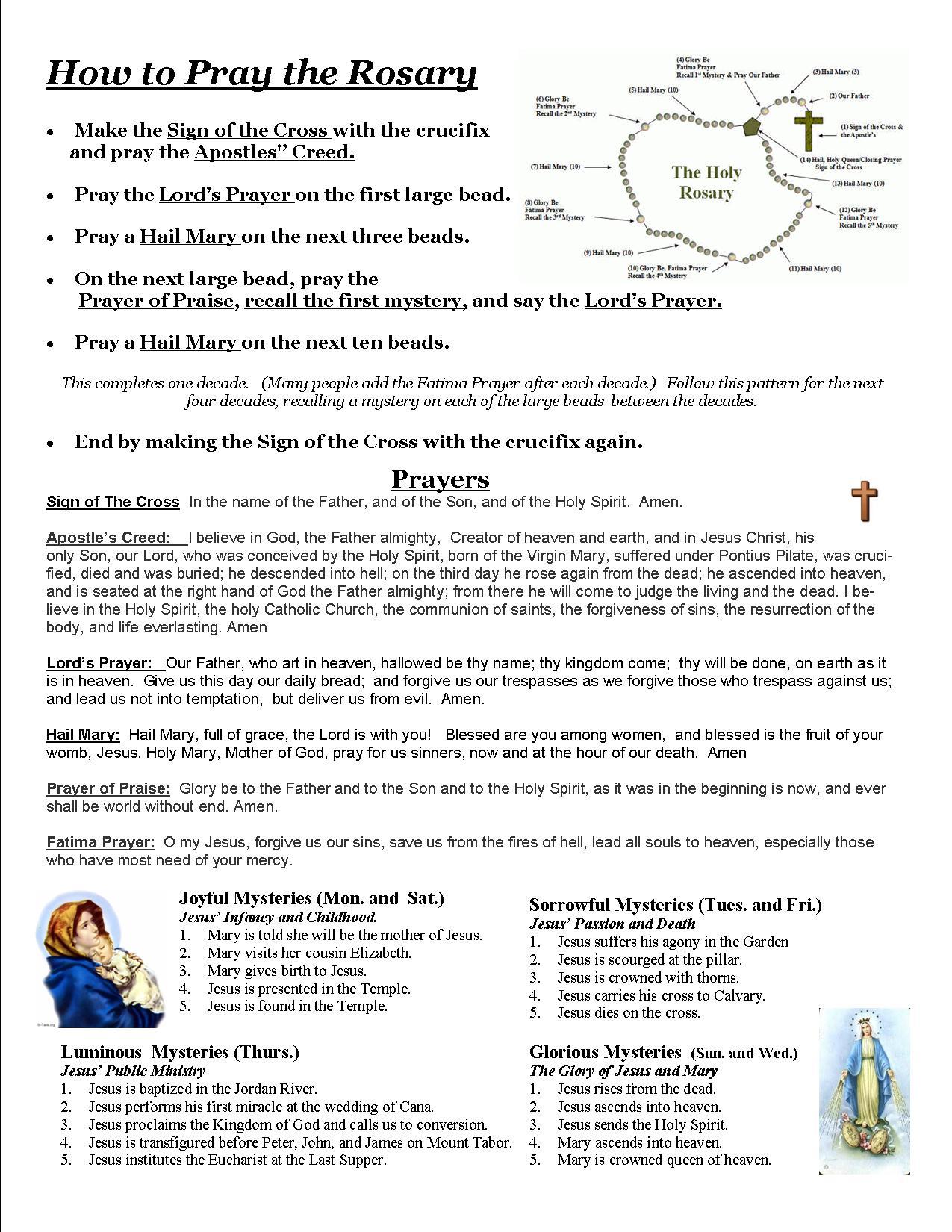 Top Hail Holy Queen Prayer Printable