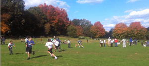 SF Flag Football in Prospect Park