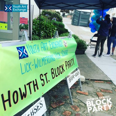 Youth Art Exchange and Lick-Wilmerding High School present the Howth Street Block Party