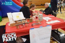 Bookmaking with Lick-Wilmerding High School students