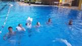 12.07.2017: SG-Rettungsschwimmer mit Textilien im Wasser