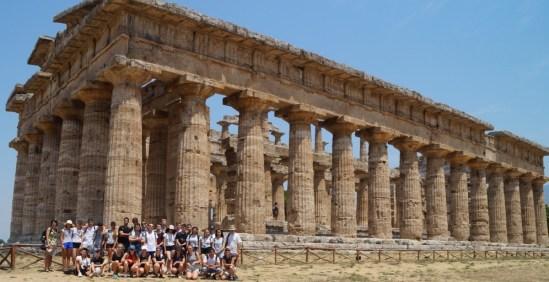 15.-21.07.2017: Latein-Studienreise der 10. Klassen an den Golf von Neapel