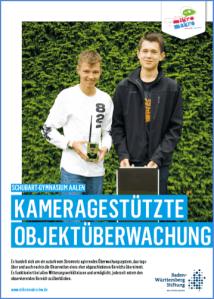 Bereit für die IENA Nürnberg am 02.-05.11.2017: Phil Bäuerle, Tobias Frömelt (K2)