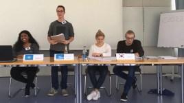 25.-27.10.2017: Rede vor der UN-Vollversammlung — der Neigungskurs Gemeinschaftskunde beim Planspiel