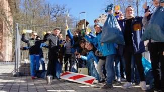 27.03.2017: Tolle Funde vom Fahrrad bis zur vollen Sektflasche
