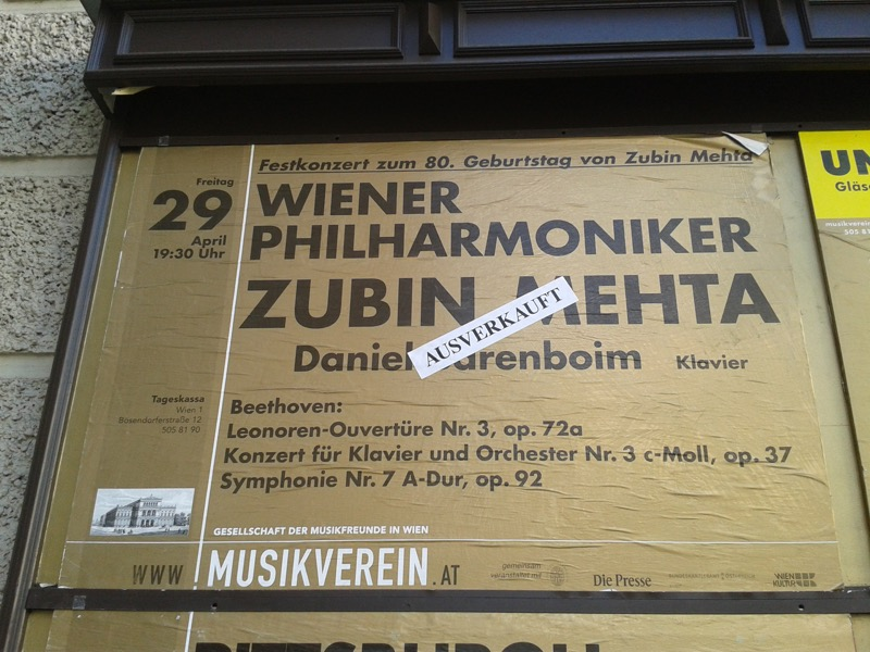 Wienfahrt der Musiker