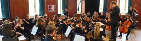 Orchester im Mai 2016