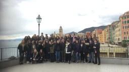19.03.2018: Tanti saluti di nostro scambio scolastico di Liguria, Italia!