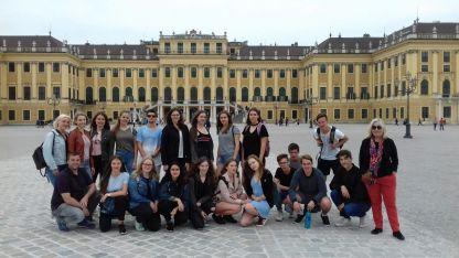 05.05.2018: Die Musiker der Kursstufe lassen sich in Wien inspirieren.