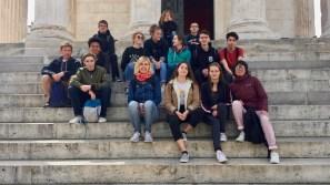 03.05.2018: Besuch bei den Austauschpartnern in Nîmes