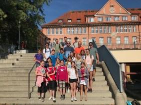 """19.07.2018: Die Schatzsucher des Projekts """"Geocaching"""""""